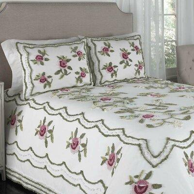 Chenille Bedspread Size: Twin