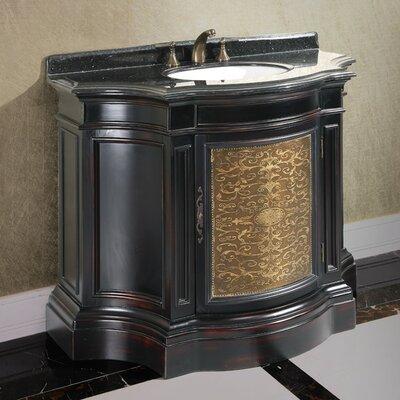 43 Single Bathroom Vanity Set Door Finish: Copper