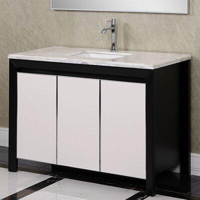 WB 47 Single Bathroom Vanity Set