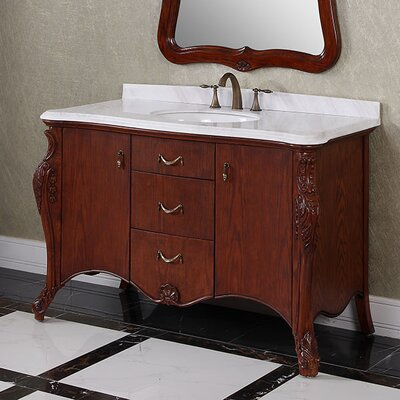 WB 53 Single Bathroom Vanity Set