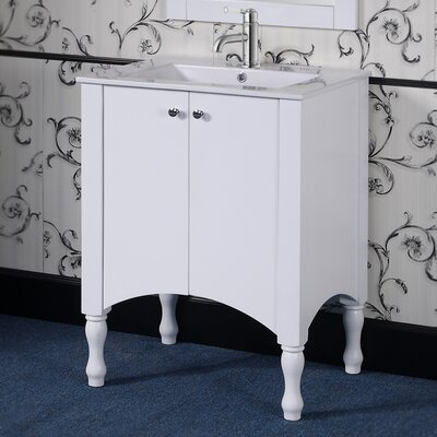 IN 33 Series 30 Single Vanity Set Base Finish: White