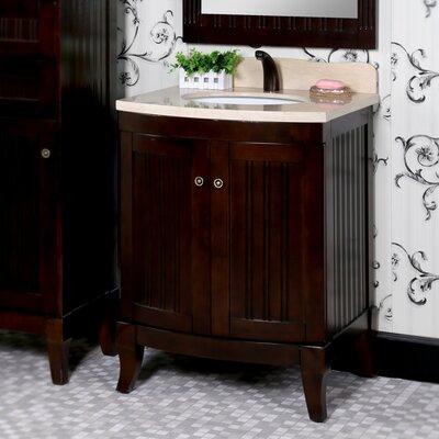 27 Single Sink WB Series Bathroom Vanity Set Base Finish: Brown