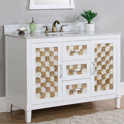 48 Single Sink Bathroom Vanity Set