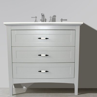 36 Single Sink Bathroom Vanity Set