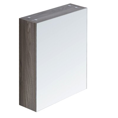 17.7 X 26.8 Surface Mount Medicine Cabinet Finish: Gray Walnut
