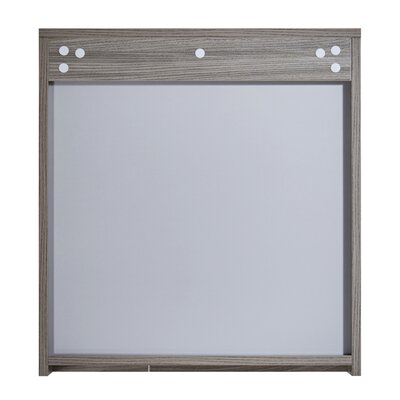 In 35 Series 23.6 X 25.6 Surface Mount Medicine Cabinet Finish: Gray