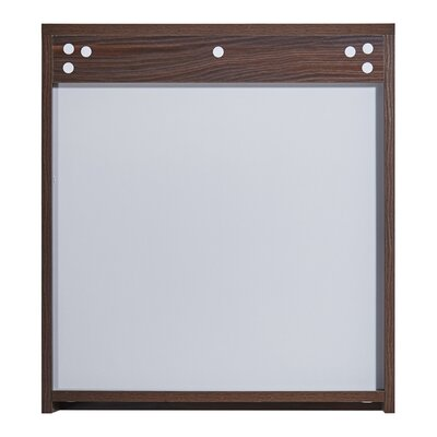 In 35 Series 23.6 X 25.6 Surface Mount Medicine Cabinet Finish: Brown