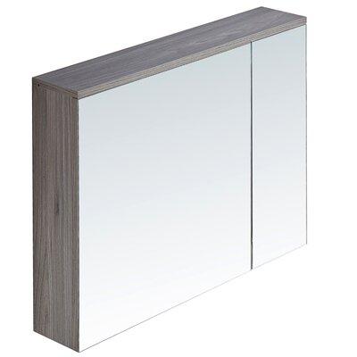 29.5 X 25.6 Surface Mount Medicine Cabinet Finish: Gray Walnut