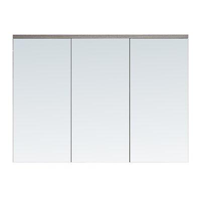 35.5 X 25.6 Surface Mount Medicine Cabinet Finish: Gray Walnut