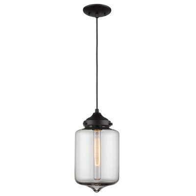 PL Series 1-Light Mini Pendant PL1091-BK(A)