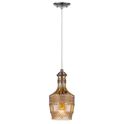 PL Series 1-Light Mini Pendant PL1001-SN(G)