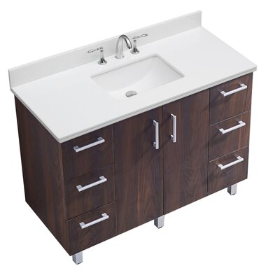 IN Series 48 Single Bathroom Vanity Set
