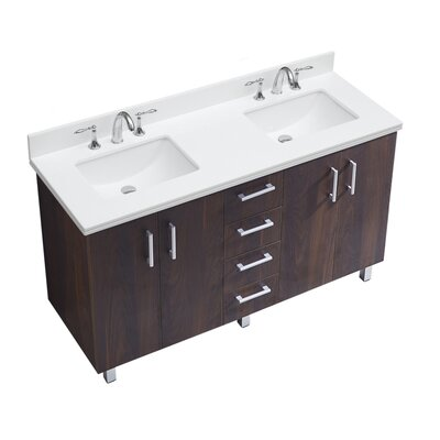 IN Series 60 Double Bathroom Vanity Set