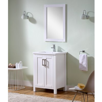 Hodgeman 24 Single Vanity Set with Mirror