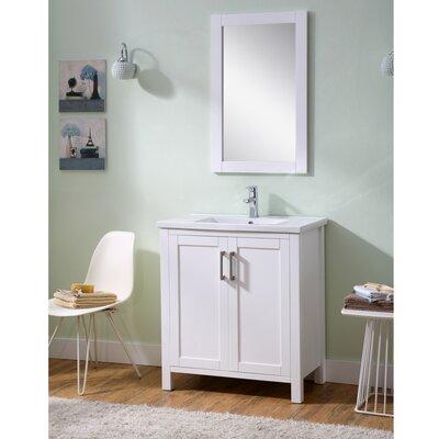 Hodgeman 30 Single Vanity Set with Mirror