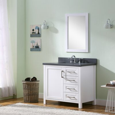 Hodgeman 35.5 Single Vanity Set with Mirror