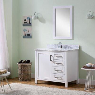 Hodgeman 35.5 Single Vanity Set with Mirror