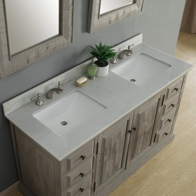 61 Double Bathroom Vanity Set