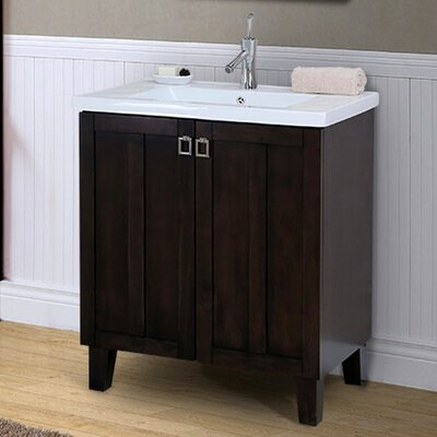 37 Series 30 Single Bathroom Vanity Set Base Finish: Brown