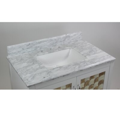 Nonatum 36 Single White Bathroom Vanity