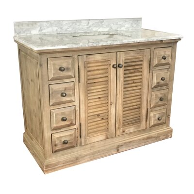 Roseland 48 Single Bathroom Vanity Set