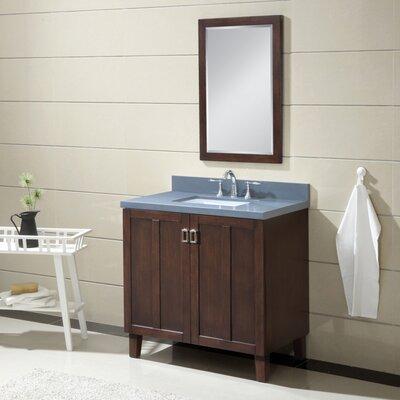 Larabee 36 Single Sink Bathroom Vanity Set Top Finish: Gray