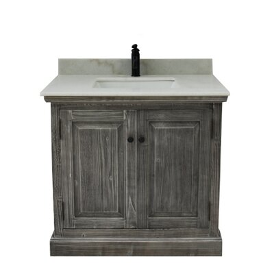 Swinyer 1 Sink Bathroom Vanity Set Top Finish: Arctic Pearl