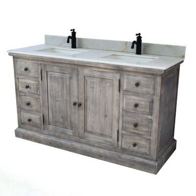 Carlton 2 Sink Bathroom Vanity Set