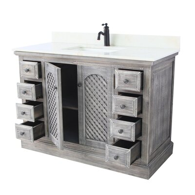 Tarra 1 Sink Inter-Cross Bathroom Vanity Set