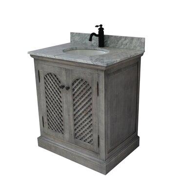 Cooney 30 Single Bathroom Vanity Set Top Finish: Carrera White