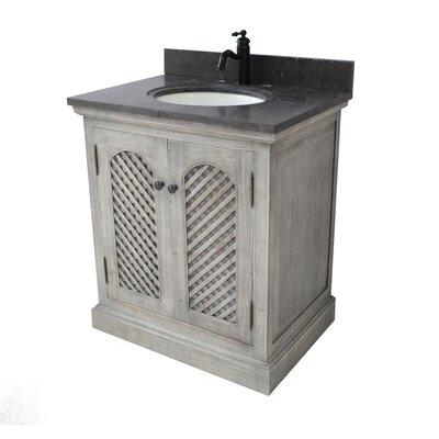 Cooney 30 Single Bathroom Vanity Set Top Finish: Limestone