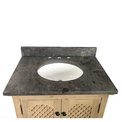 Sloan Single Bathroom Vanity Set Top Finish: Limestone