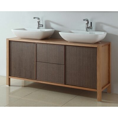 59 Double Bathroom Vanity Set
