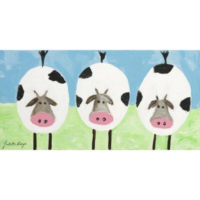 "Three Cows"" by Judith Raye Original Painting Print KPCWS1206"