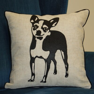 Faithful Companions Chihuahua Dog Pillow Cover