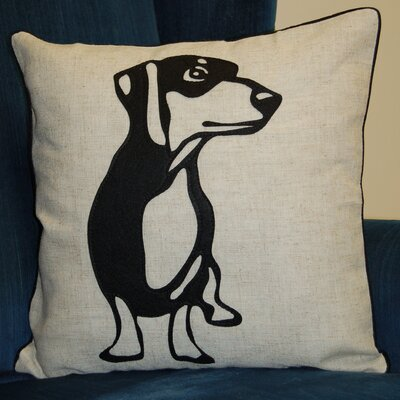 Faithful Companions Dachshund Dog Pillow Cover