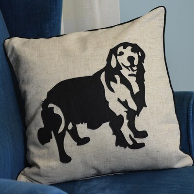 Faithful Companions Golden Retriever Dog Pillow Cover