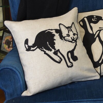 Faithful Companions Kitty Cat Pillow Cover