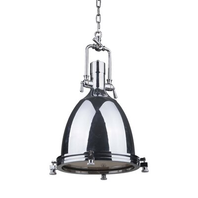 Bentley 1-Light Mini Pendant Finish: Chrome