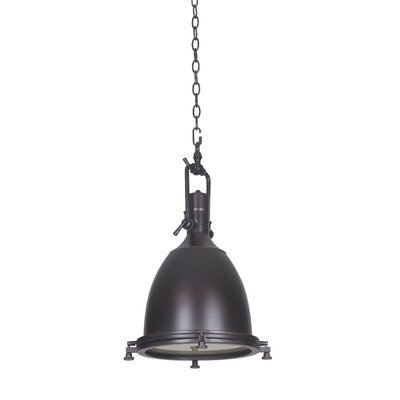 Bentley 1-Light Mini Pendant Finish: Rubbed Bronze