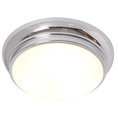 3-Light Flush Mount Finish: Nickel