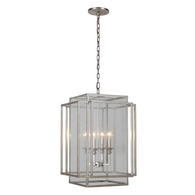 4-Light Hanging Pendant Finish: Antique Silver