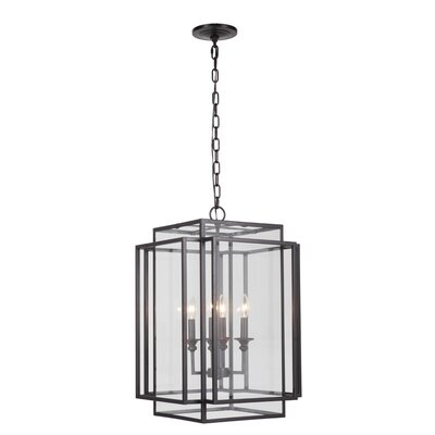 4-Light Hanging Pendant Finish: Bronze