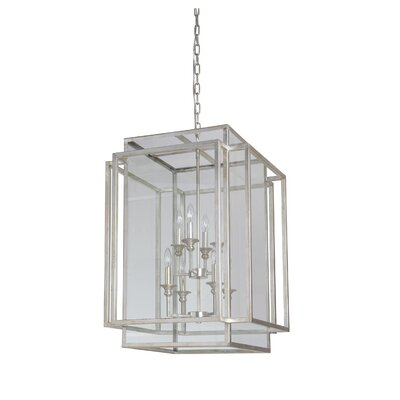 8-Light Hanging Pendant Finish: Antique Silver