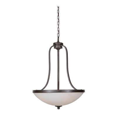 Urban 3-Light Inverted Pendant