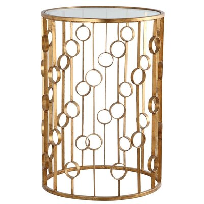 O Collection End Table Finish: Gold