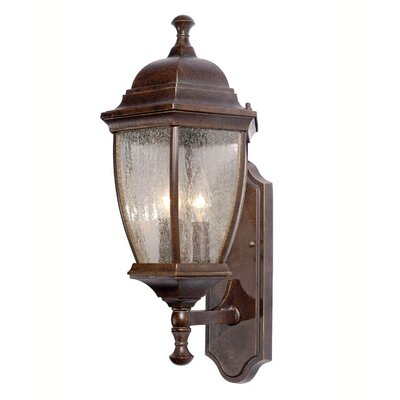 3-Light Outdoor Wall Lantern
