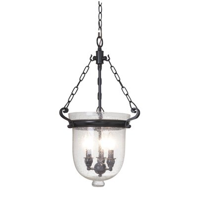 Cloche 3-Light Pendant Finish: Bronze