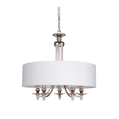 Metropolitan 5-Light Drum Pendant