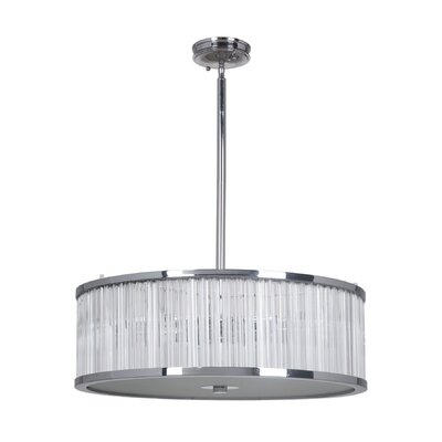 Crayton 1-Light Drum Pendant